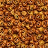 Halloween pumpkin background Stock Illustration