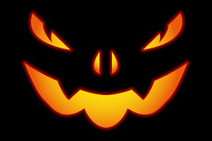 HALLOWEEN PUMPKIN BACKGROUND Royalty Free Stock Photography