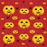 Halloween Pumpkin background. Vector illustration Stock Photo