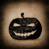 Halloween Pumpkin Background Royalty Free Stock Photos