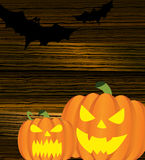 Halloween pumpkin background Stock Photography