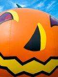 Halloween pumpkin balloon Royalty Free Stock Images