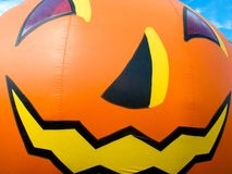 Halloween pumpkin balloon Stock Photography
