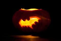 Halloween pumpkin bat Royalty Free Stock Photo