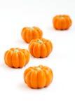 Halloween pumpkin candy Stock Photography