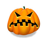 Halloween pumpkin clipart. Stock Image