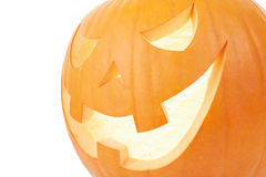 Halloween pumpkin close up Stock Photography