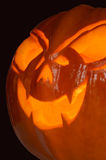 Halloween pumpkin closeup Stock Photo