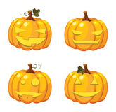 Halloween pumpkin collection Stock Photography