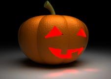 Halloween Pumpkin. 3D, computer generated Stock Photos