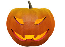 Halloween pumpkin in 3d Royalty Free Stock Images