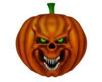 Halloween pumpkin - 3D render Royalty Free Stock Photography