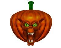 Halloween pumpkin - 3D render Royalty Free Stock Image