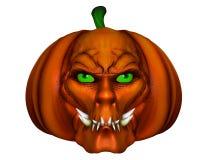 Halloween pumpkin - 3D render Royalty Free Stock Photos