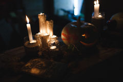 Halloween Pumpkin. Decoration for the celebration of Halloween Royalty Free Stock Image