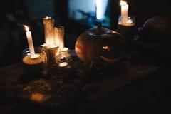 Halloween Pumpkin. Decoration for the celebration of Halloween Stock Photos