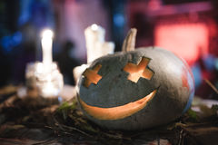 Halloween Pumpkin. Decoration for the celebration of Halloween Royalty Free Stock Photo