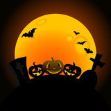 Halloween pumpkin design Royalty Free Stock Photos