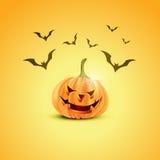 Halloween pumpkin design Stock Images