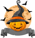 Halloween Pumpkin  Design Stock Photography