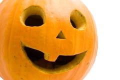 Halloween pumpkin face Stock Photo