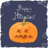 Halloween Pumpkin Face Royalty Free Stock Photos