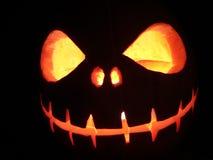 Halloween pumpkin. Face set in a pumpkin for halloween Royalty Free Stock Photos
