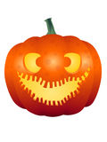 Halloween Pumpkin Face 003 Stock Photography