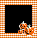 Halloween Pumpkin Faces Background Royalty Free Stock Photography