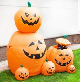 Halloween Pumpkin Family. Halloween Pumpkin, orange colour, smile and happy Stock Images