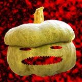 Halloween pumpkin on fire Royalty Free Stock Photography