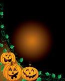 Halloween Pumpkin Frame Stock Photography