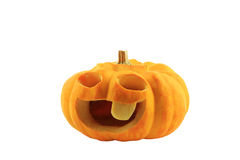 Halloween pumpkin fruit Royalty Free Stock Image