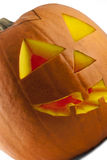 Halloween Pumpkin 01. Funny home-made pumpkin ready for celebrating Halloween royalty free stock image