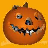 Halloween Pumpkin. Royalty Free Stock Image