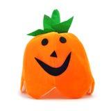 Halloween pumpkin hat Stock Photo