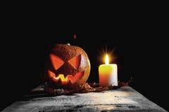 Halloween pumpkin head Royalty Free Stock Photography