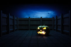Halloween Pumpkin Head. Stock Photo