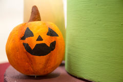 Halloween pumpkin head jack lantern stock images