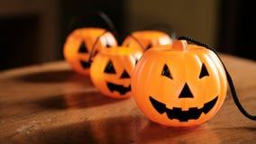 Halloween pumpkin head jack lantern Royalty Free Stock Photography