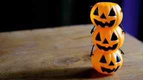 Halloween pumpkin head jack lantern Stock Images