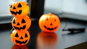 Halloween pumpkin head jack lantern Royalty Free Stock Images
