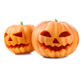Halloween pumpkin head jack lantern Royalty Free Stock Photography
