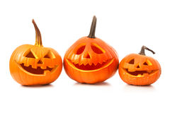 Halloween pumpkin head jack lantern Stock Image