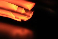 Halloween pumpkin head with spooky evil eyes Royalty Free Stock Photography