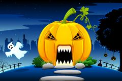 Halloween Pumpkin House Royalty Free Stock Images
