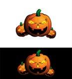 Halloween pumpkin icon. EPS10 format Stock Photography