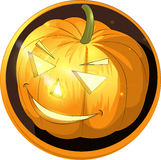 Halloween pumpkin. Icon about the pumpkin image from Halloween vector illustration