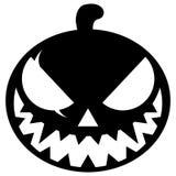 Halloween Pumpkin Icon - vector illustration Royalty Free Stock Photo