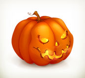 Halloween Pumpkin icon Stock Photos